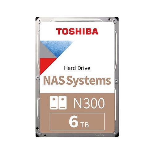 Toshiba N300 NAS HDD - 6TB