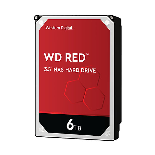WD Red WD60EFRX NAS HDD - 6TB