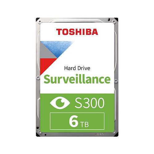Toshiba S300 Surveillance HDD - 6TB