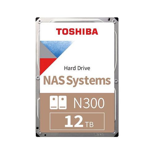 Toshiba N300 NAS HDD - 12TB