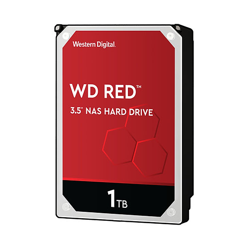 WD Red WD10EFRX NAS HDD - 1TB