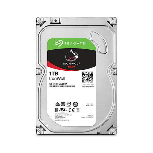 Seagate IronWolf NAS HDD - 1TB