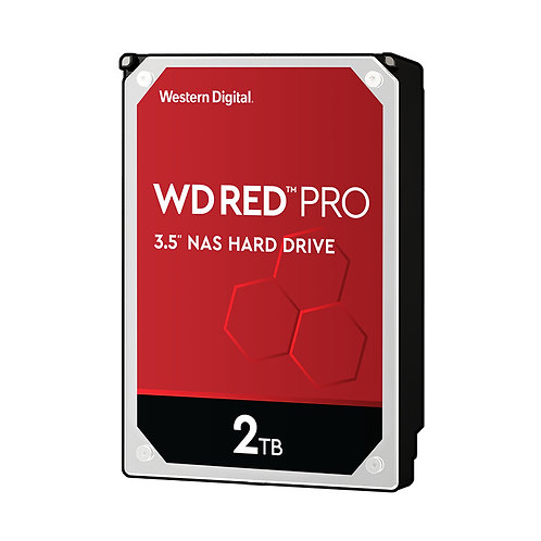 WD Red Pro WD2002FFSX NAS HDD - 2TB