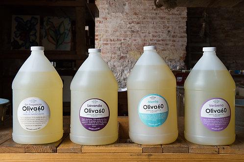 4 Galones de jabón líquido de Castilla
