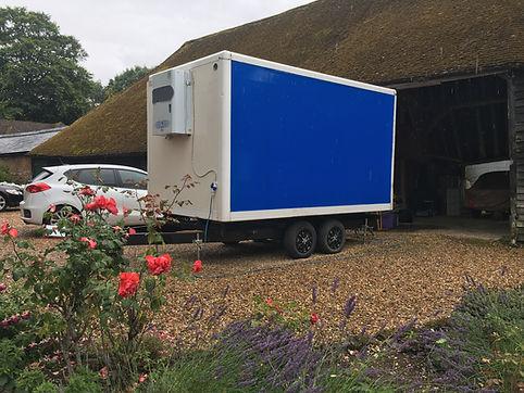 Wedding Fridge Trailer Hire Surrey