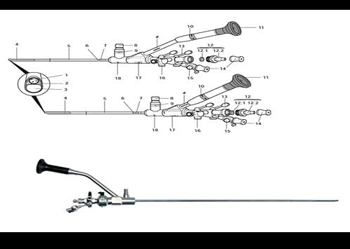 Ureteroscópio Rígido