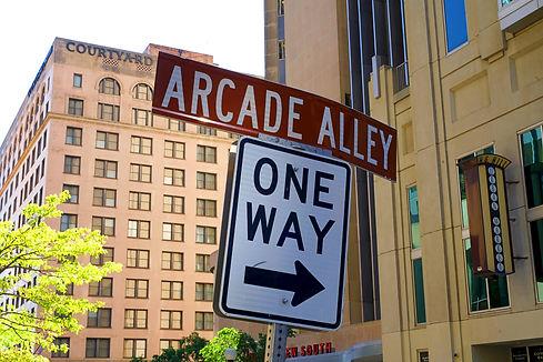 Arcade Alley Nashville Tennessee Printers Alley