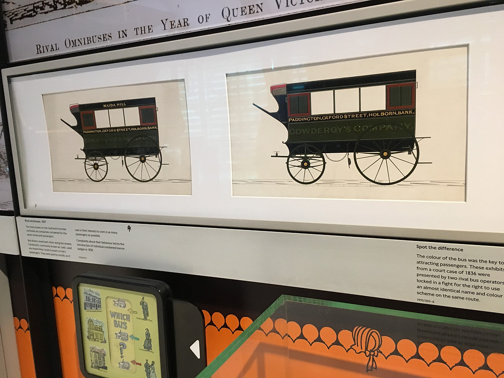 Panel from the London Transport Museum