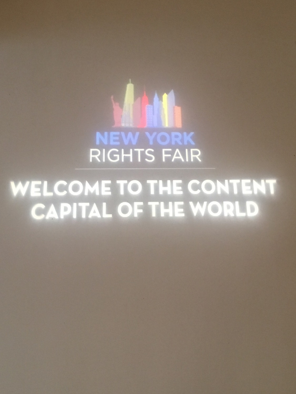 At the New York Rights Fair!