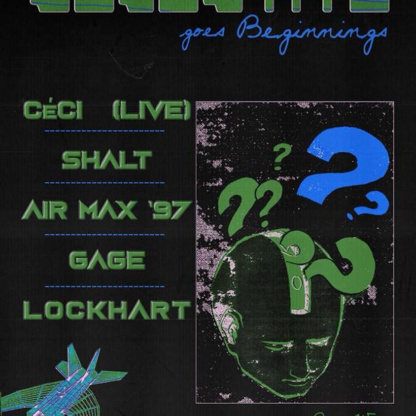 Celestite at Rye Wax: Air Max '97 CÉCI SHALT Gage Lockhart