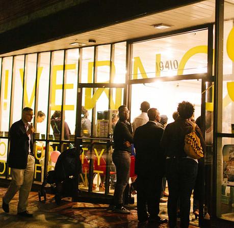 A pop-up community hub, DCDC's Livernois Community Storefront celebrates local culture along Detroit's Avenue of Fashion. (Courtesy of DCDC)