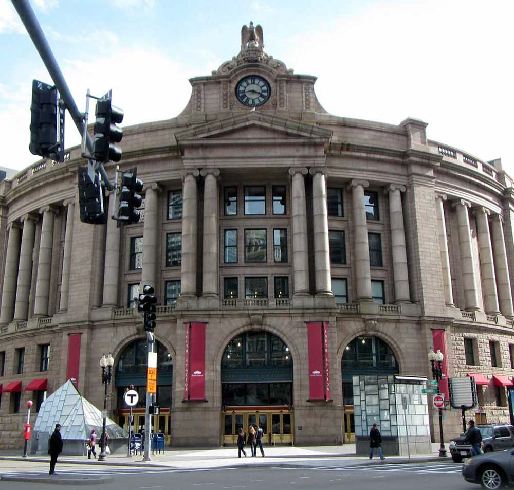 Boston South Station (Bohao Zhao)
