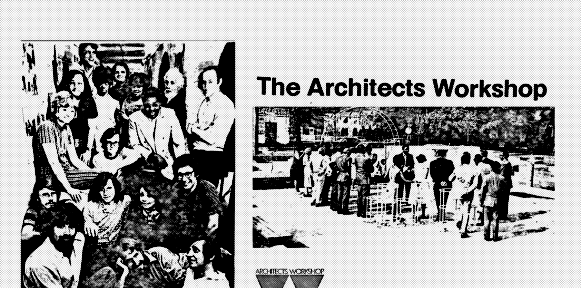 Outreach materials from the early 1970s (AIA Archives)