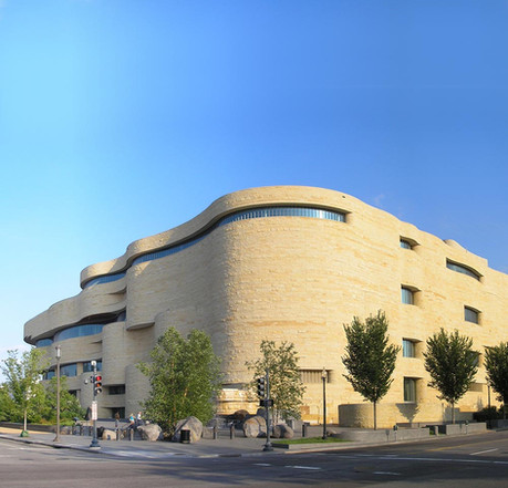 In the 1990s, Weller served on the design team for the Smithsonian Museum of the American Indian. (Gryffindor/Wikimedia Commons)