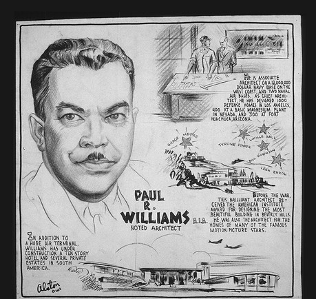 Williams was featured in a series of 1943 drawings by artist Charles Alston to promote the war effort. (U.S. National Archives)