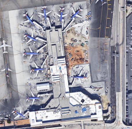 Los Angeles International Airport, Terminal One, 1984