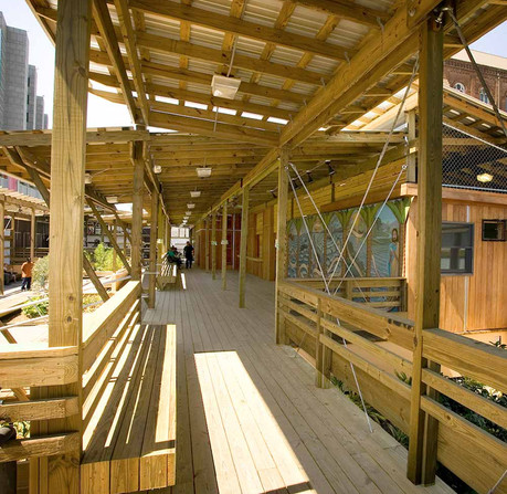DCDC designed New Orleans' St. Joseph ReBuild Center, supporting those experiencing homelessness. (Courtesy of DCDC)