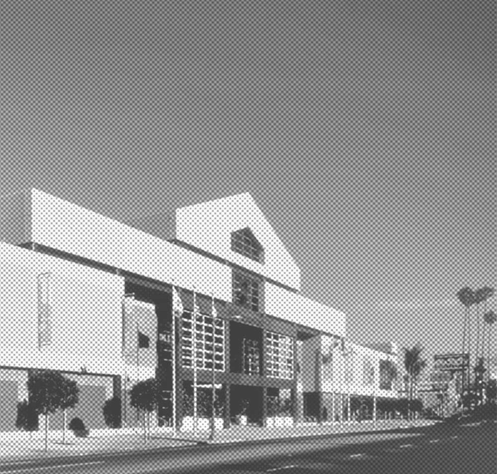 Park's Koreatown shopping plaza stands as testament to his use of architecture to recognize the complex needs of a given community. (AIA Archives)