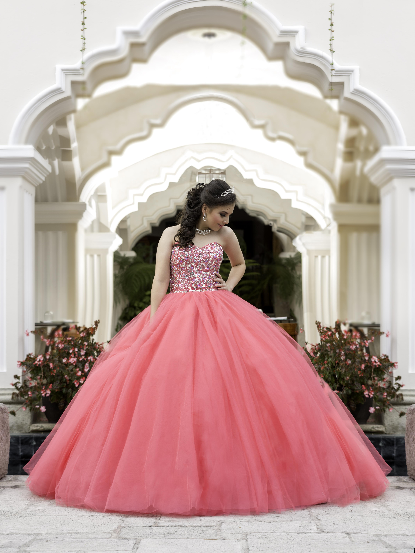 vestido pink revista 15