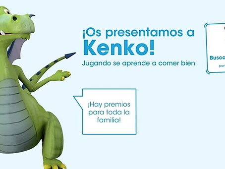 Kenko. The dragon that teaches while playing in 3D