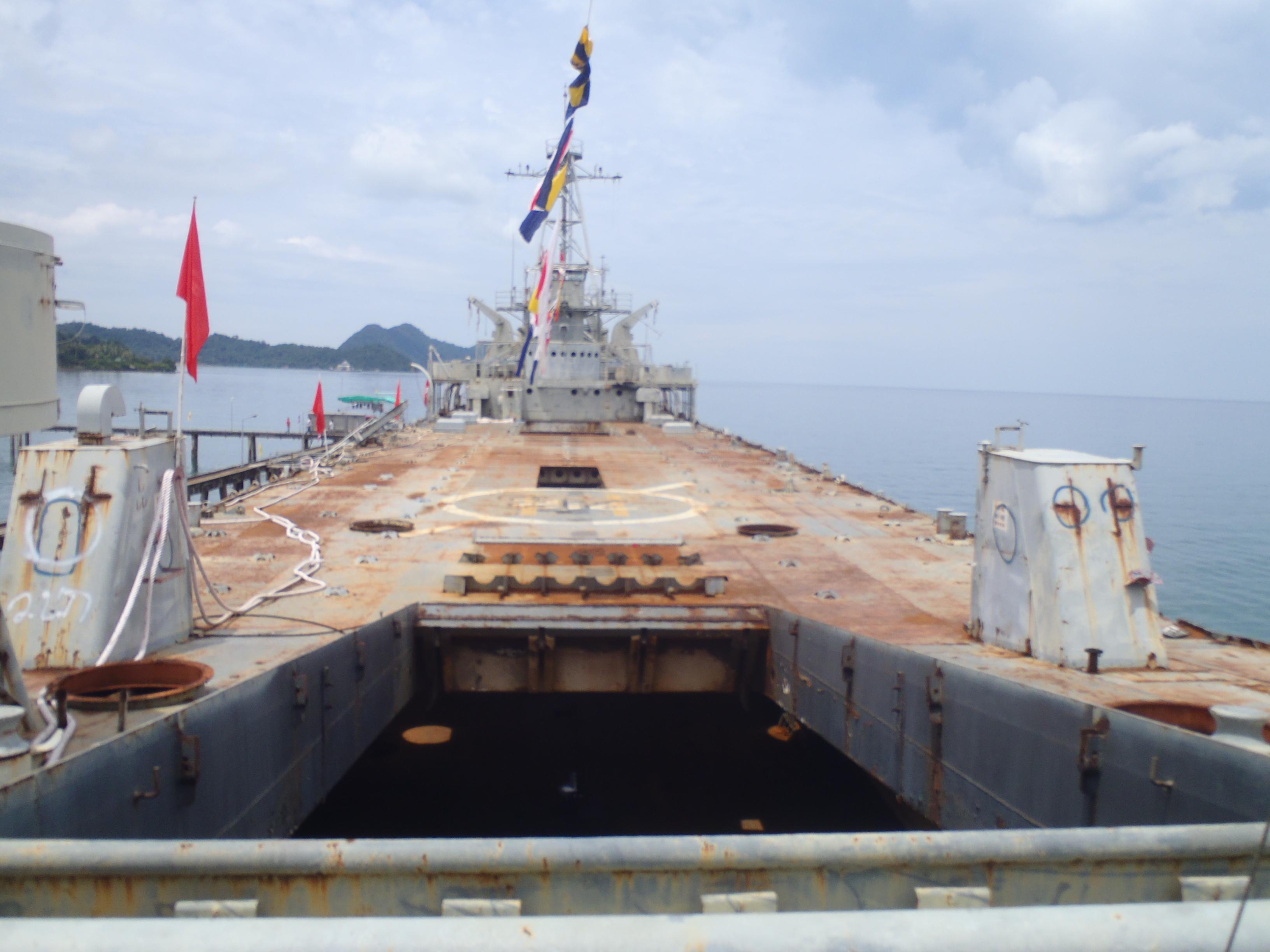 корабль затопленный на ко чанге