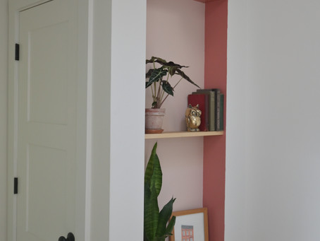 Recessed Shelves & Niches