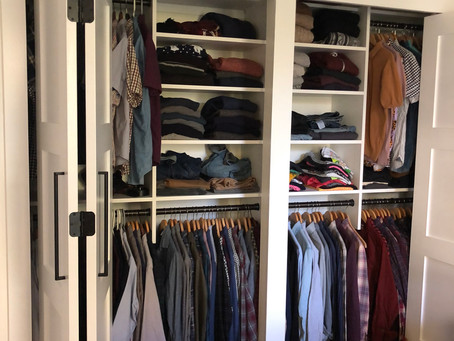 Closets- Organization & Storage options
