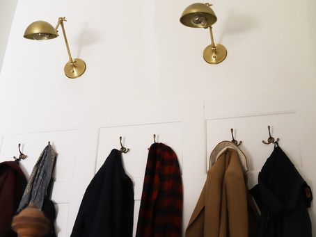 Adding Character With A Custom DIY Coat Nook