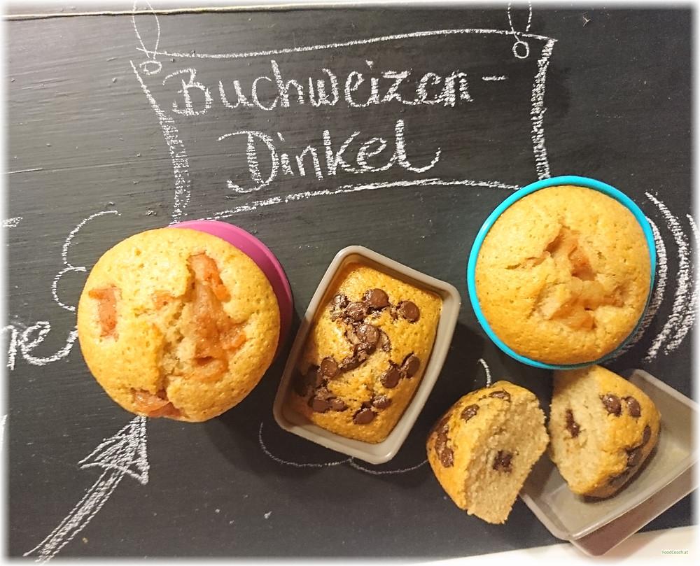 Buchweizen Dinkel Muffins