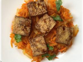 Karottensalat – süßsauer und warm