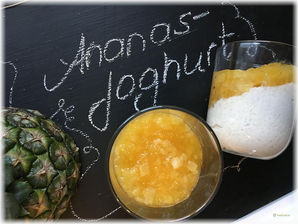 Ananasjoghurt