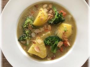 Tipps zum Gewicht halten – Gemüseeintopf mit Linsen