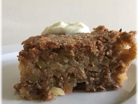 Apfelernte Teil 1 – Gestreuter Tassenkuchen