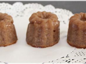 Mini Cannelés à la crème de marron