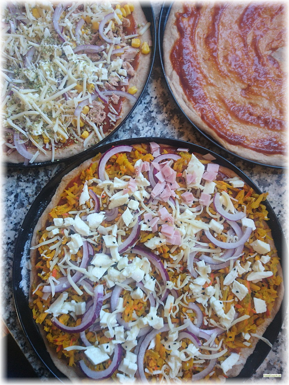 Pizza Kürbispizza
