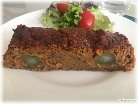 "Veganer Linsenbraten – ""falscher falscher Hase"""
