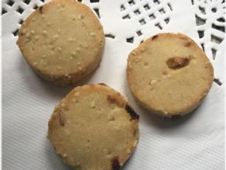 Keksebacken 2017 – Mango-Mandel-Kekse von der Rolle