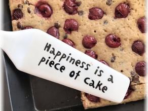 Piece of Cake – Kirschenkuchen mit Dinkel und Teff