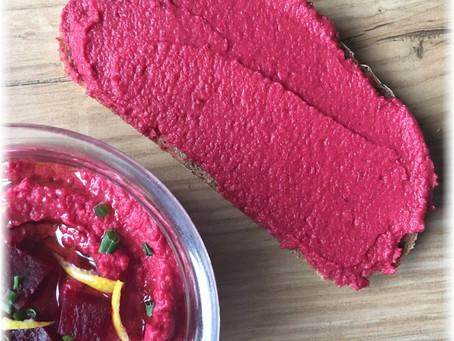 Rote Rüben – Hummus