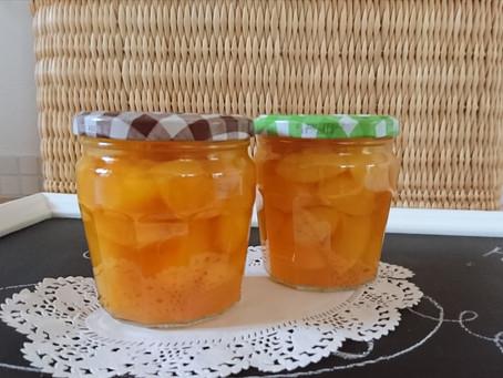 Ab ins Glas, Sommer! – Pfirsichkompott