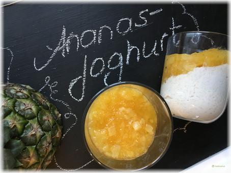 Dessert mal anders: Ananas – Joghurt
