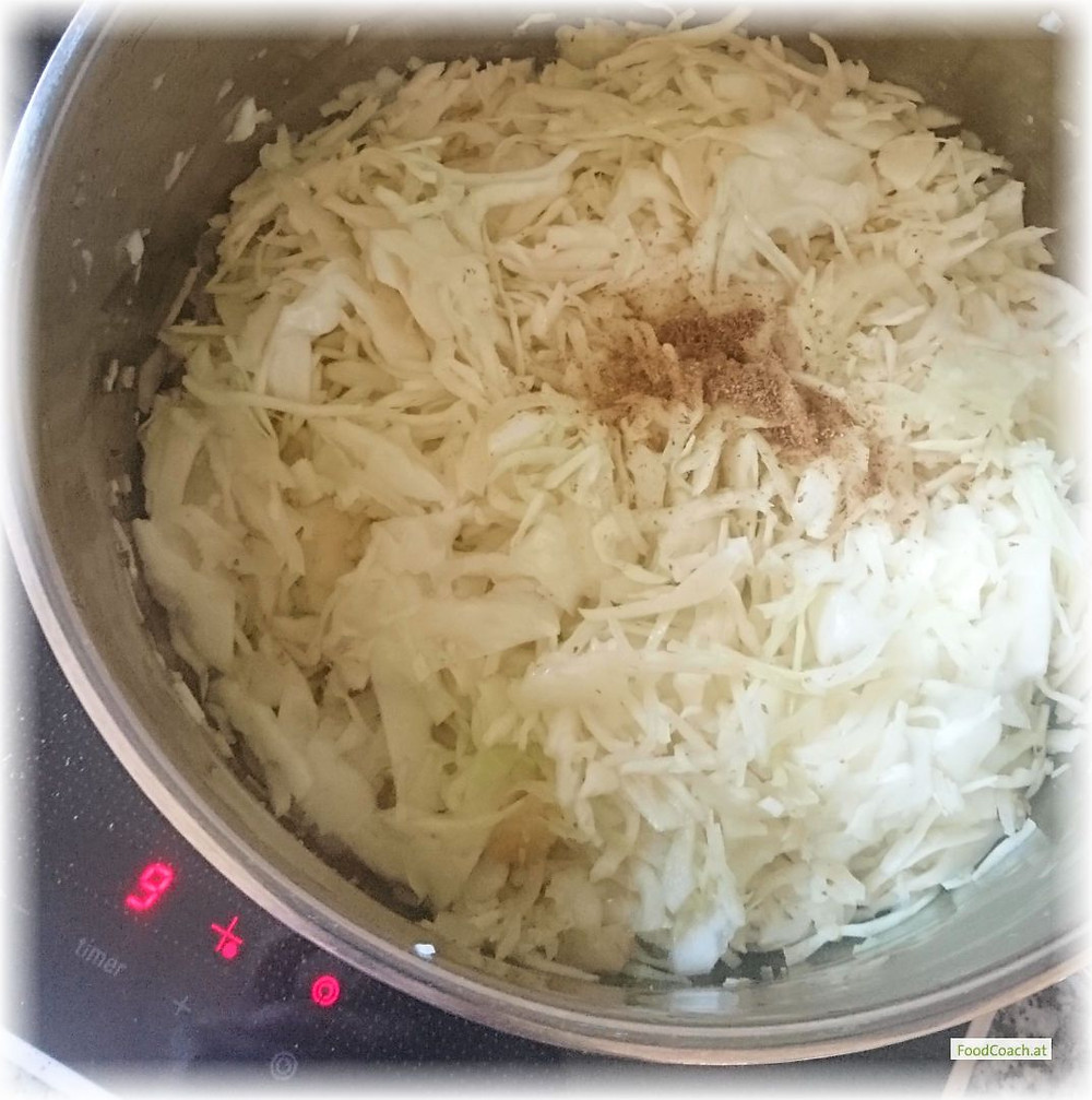 Krautsalat warm