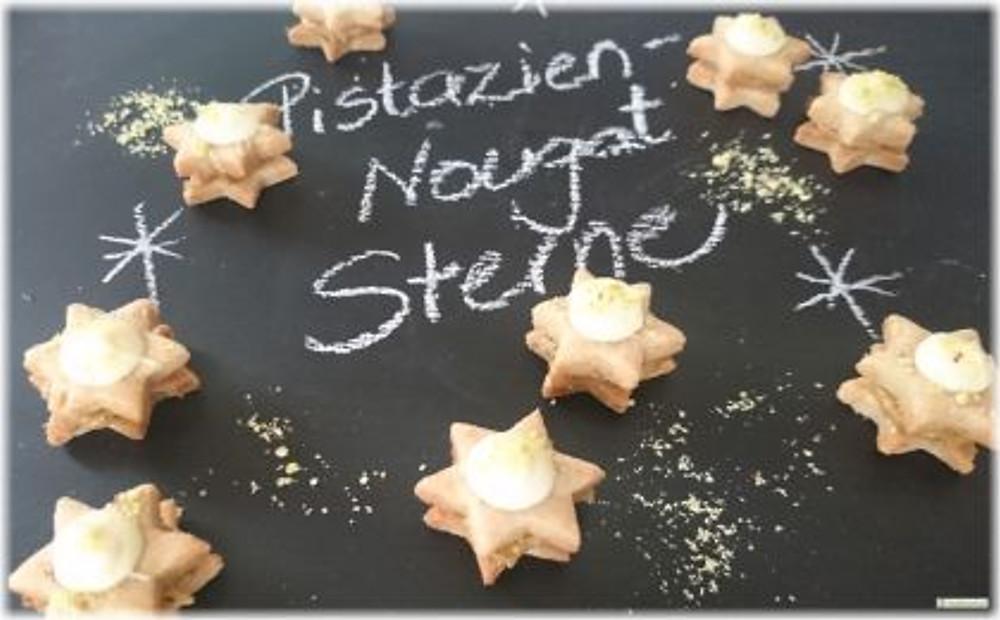 Pistazien Nougat Sterne 2