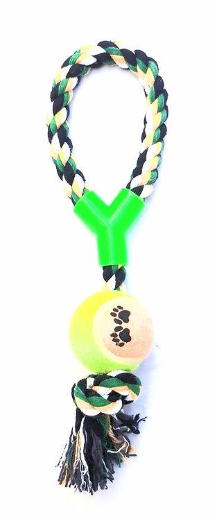 Corda flexível com bola