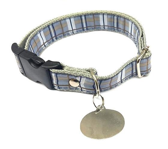 Coleira de Identificação Cachorro Médio - 10 Peças