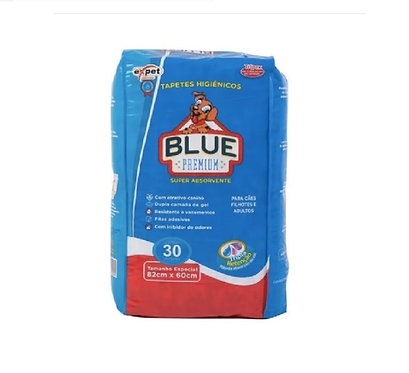 Blue Premium Tapete Higiênico 30 unidades