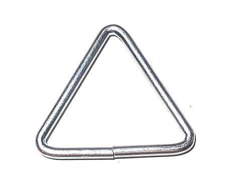 Triangulo de Ferro Banho Cromo 43mm Interno nas Três Partes