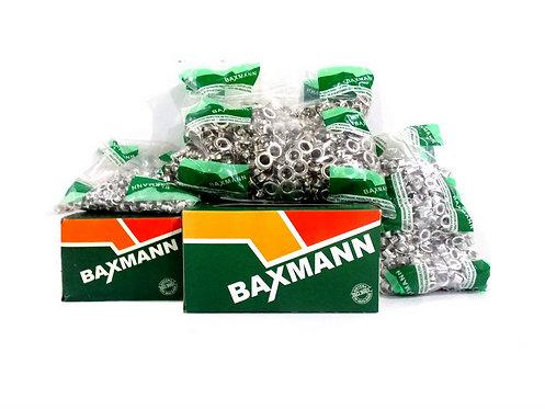 Rebite Baxmann  N 5 Calota Níquel Caixa com 1000