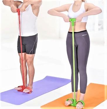 Elástico De Tensão Exercícios Treino Yoga Fitness Crossfit