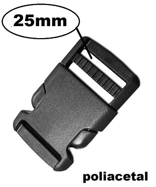 Trava de Engate de 25mm de largura